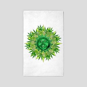 Marijuana Sunshine 3'x5' Area Rug