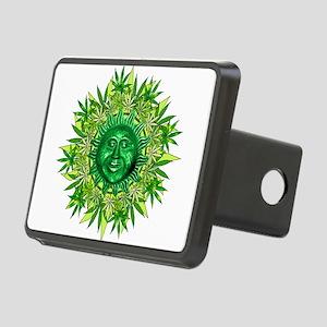 Marijuana Sunshine Rectangular Hitch Cover