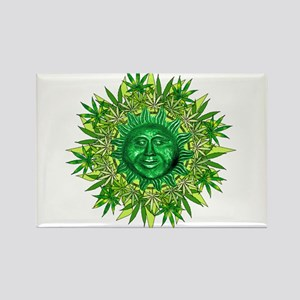 Marijuana Sunshine Rectangle Magnet