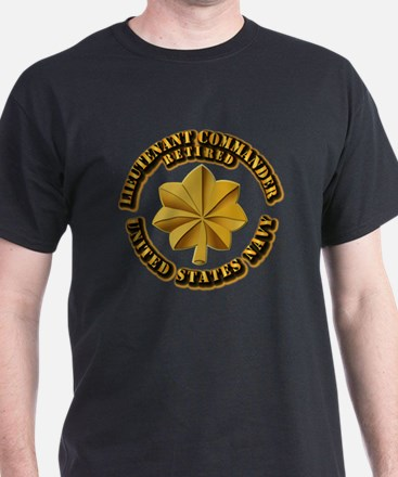 Navy - Lieutenant - O-3 - w Text T-Shirt