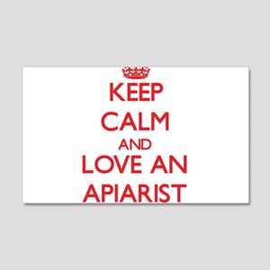 Keep Calm and Love an Apiarist Wall Decal