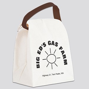 Big Ed's Gas Farm - Twin Peaks Canvas Lunch Bag