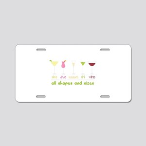 all shapes and sizes Aluminum License Plate