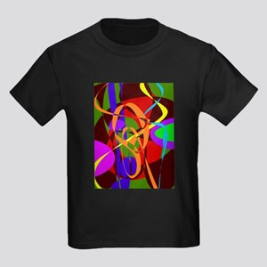 Irregular Abstract Forms and Lines T-Shirt