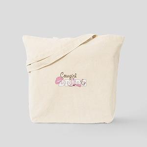 Cowgirl bride Tote Bag