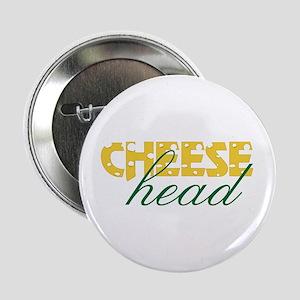 """Cheese Head 2.25"""" Button"""