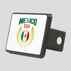 Soccer Mexico 2014 Wings Rectangular Hitch Cover