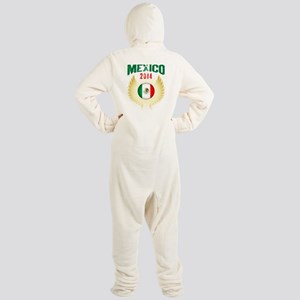 Soccer Mexico 2014 Wings Footed Pajamas