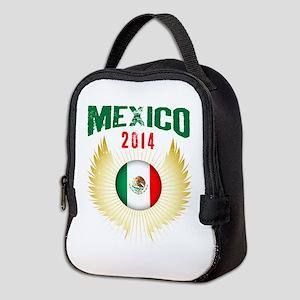 Soccer Mexico 2014 Wings Neoprene Lunch Bag