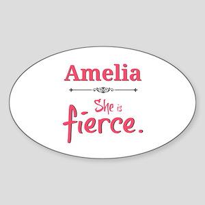 Amelia is fierce Sticker