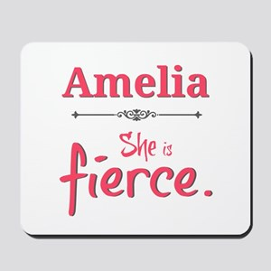 Amelia is fierce Mousepad
