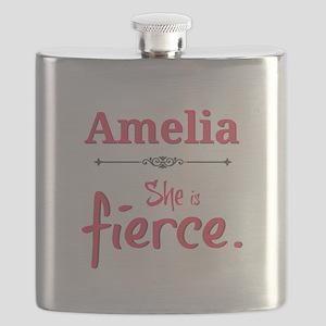Amelia is fierce Flask