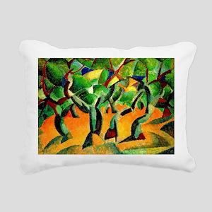 Leo Gestel - Olive Grove Rectangular Canvas Pillow