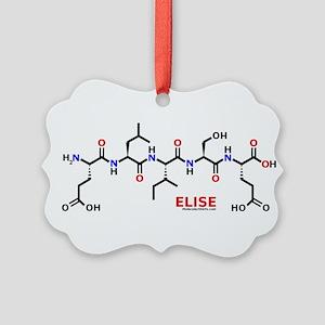 Elise molecularshirts.com Ornament