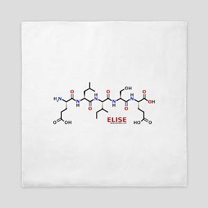Elise molecularshirts.com Queen Duvet