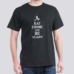 Eat Drink And Be Scary Halloween T-Shirt