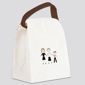 Female Generations Canvas Lunch Bag