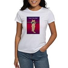 Hang In There Baby Kitten Women's T-Shirt