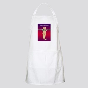 Hang In There Baby Kitten Apron