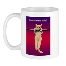 Hang In There Baby Kitten Mug
