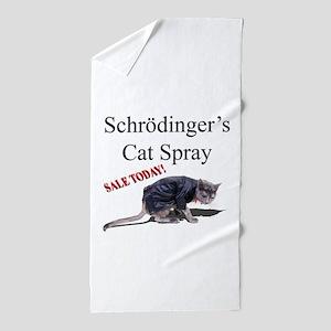 Schrodingercat Beach Towel