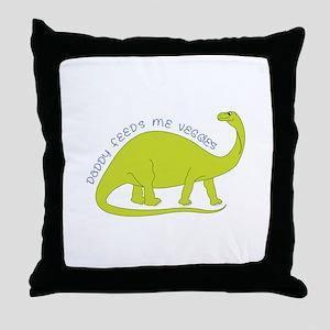 Veggies Throw Pillow