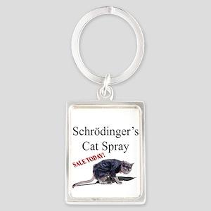Schrodingers Cat Spray Keychains