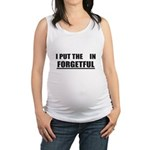 Forgetful Maternity Tank Top