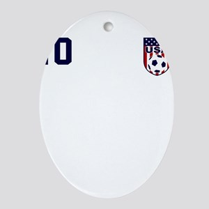 USA soccer Ornament (Oval)