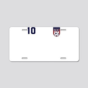 USA soccer Aluminum License Plate