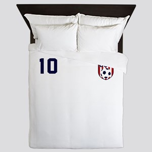 USA soccer Queen Duvet