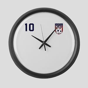 USA soccer Large Wall Clock