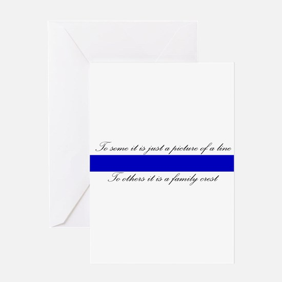 LEO Family Crest Greeting Cards