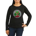 USS DOWNES Women's Long Sleeve Dark T-Shirt
