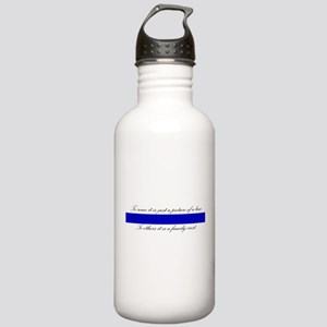 LEO Family Crest Water Bottle