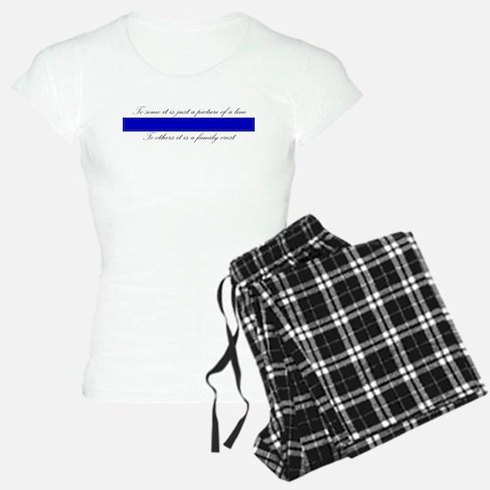 LEO Family Crest Pajamas