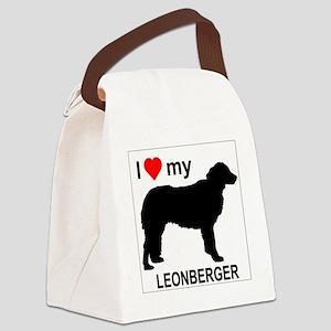 Leonberger Canvas Lunch Bag