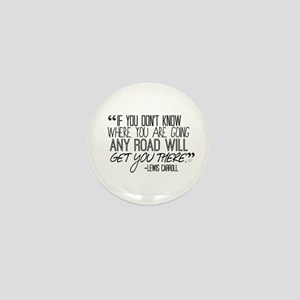 Any Road Lewis Carroll Mini Button