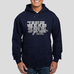 Any Road Lewis Carroll Hoodie (dark)