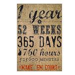 Make Em Count Postcards (Package of 8)