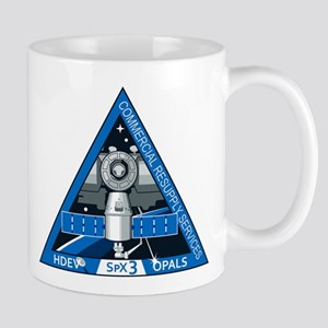 SpX-3 Logo 11 oz Ceramic Mug
