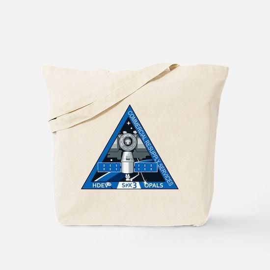 SpX-3 Logo Tote Bag