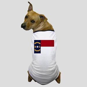 North Carolina State Flag2 Dog T-Shirt