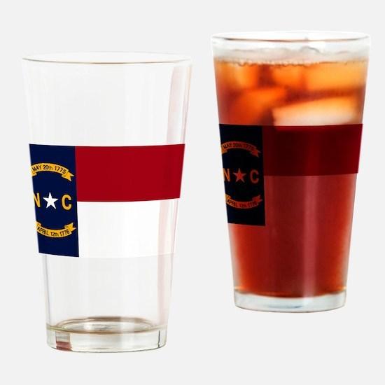 North Carolina State Flag2 Drinking Glass