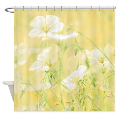 Yellow Wildflowers Shower Curtain By Ibeleiveimages