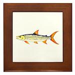Tigerfish Framed Tile