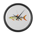 Tigerfish Large Wall Clock