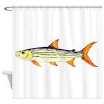Tigerfish Shower Curtain
