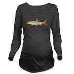 Tigerfish C Long Sleeve Maternity T-Shirt
