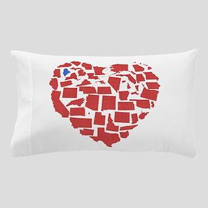 Maine Heart Pillow Case